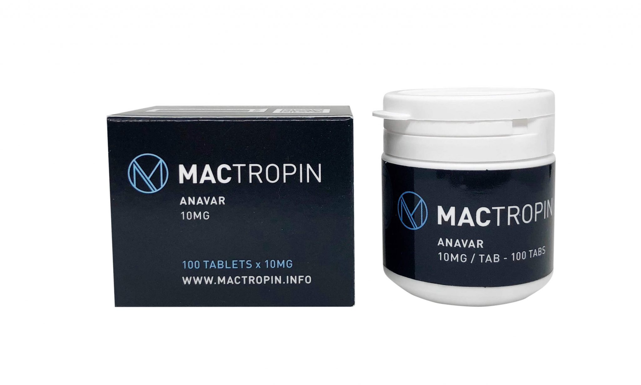 Anavar - Mactropin - 10mg - Boîte de 100tabs - LeCoqMusclé.com