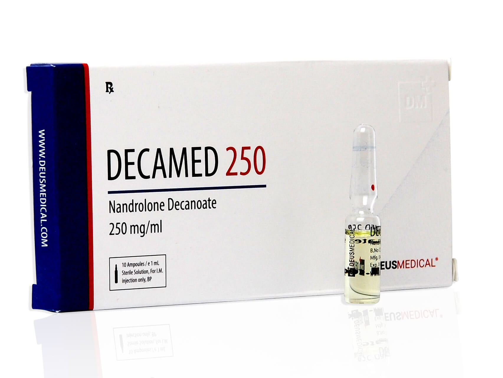 DECAMED 250 (Nandrolone Decanoate) - 10amps of 1ml - DEUS